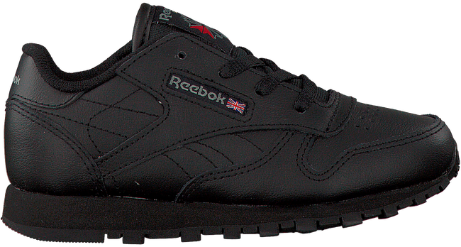 Zwarte REEBOK Sneakers CL LEATHER KIDS  - large