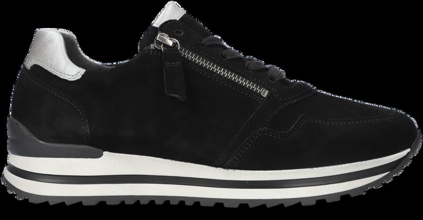 Zwarte GABOR Lage sneakers 528  - larger