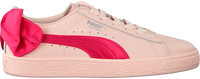 Roze PUMA Sneakers BASKET BOW JR - medium