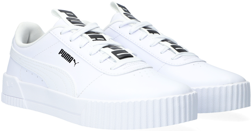 Witte PUMA Lage sneakers CARINA BOLD  - larger
