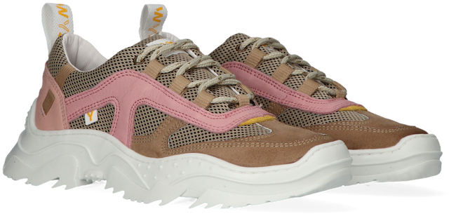 Taupe WYSH Lage sneakers EMILEE  - large