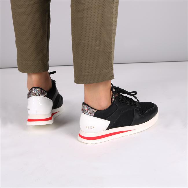 Zwarte NUBIKK Sneakers EVI JAW  - large