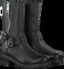 Zwarte PS POELMAN Lange laarzen 13186  - small