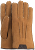 Cognac UGG Handschoenen CASUAL GLOVE WITH LEATHER LOGO - small