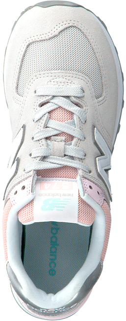 Grijze NEW BALANCE Lage sneakers WL574  - large