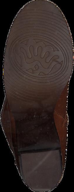 Cognac SHABBIES Enkellaarsjes 183020112  - large
