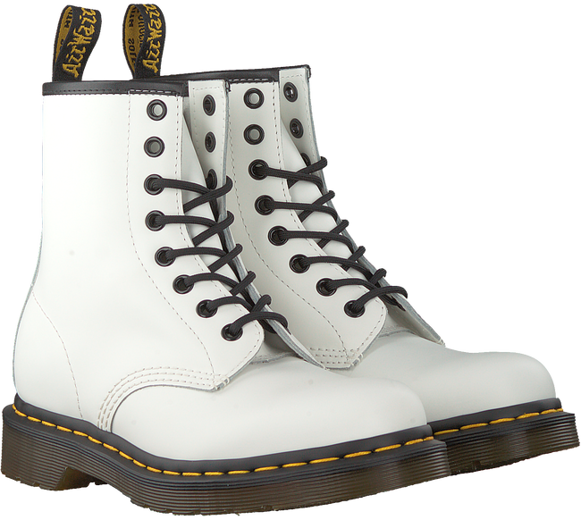 Witte DR MARTENS Veterboots 1460 W - large