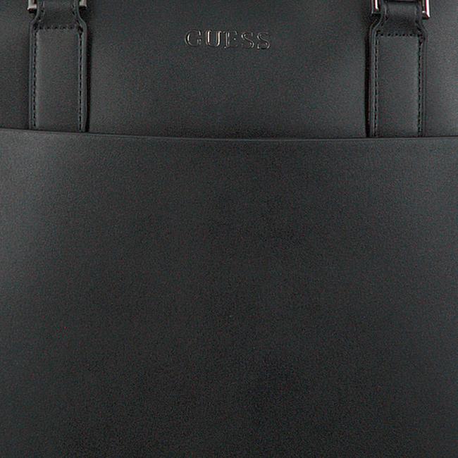 Zwarte GUESS Laptoptas SCALA BRIEFCASE  - large