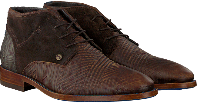 Bruine REHAB Nette schoenen SALVADOR ZIG ZAG - large