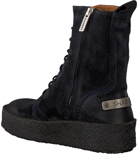Blauwe SHABBIES Veterboots 184020014 - large