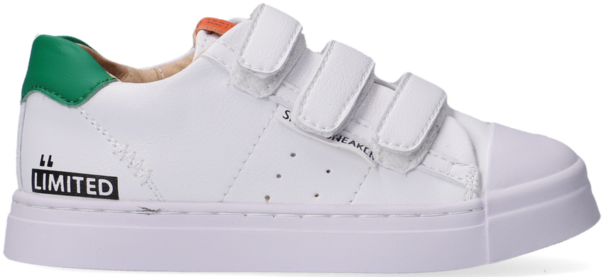Witte SHOESME Lage sneakers SH21S015 - larger