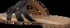 Zwarte OMODA Slippers 179854  - small