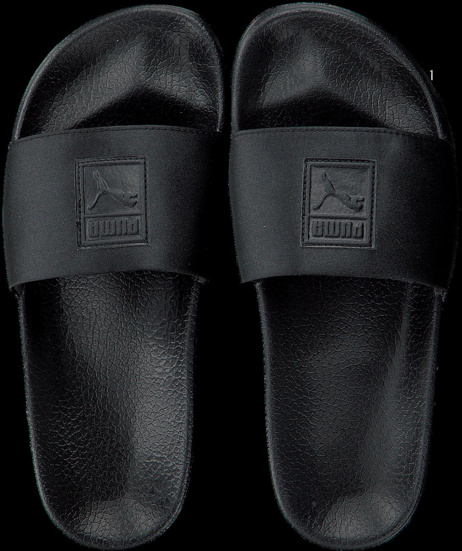 250606983c20ad Zwarte PUMA Slippers LEADCAT SATIN WMNS - Omoda.nl