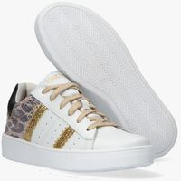 Witte TON & TON Lage sneakers ERICA  - medium