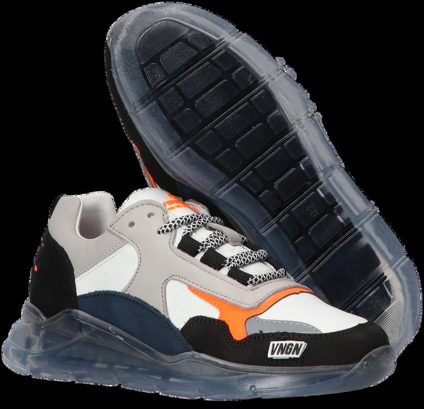 Witte VINGINO Lage sneakers FABIAN  - larger