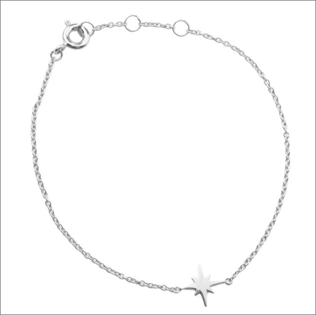 Zilveren ATLITW STUDIO Armband SOUVENIR BRACELET STAR BURST - large