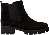 Zwarte GABOR Chelsea boots 710  - medium