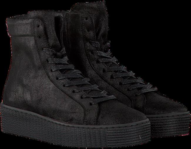 Zwarte STUDIO MAISON Sneakers CREEPER HIGH  - large