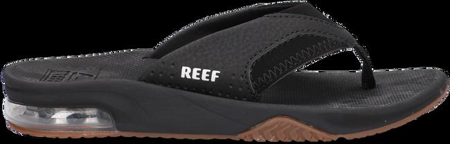 Zwarte REEF Teenslippers FANNING KIDS  - large