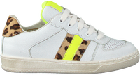 Witte CLIC! Lage sneakers CL-20100  - medium