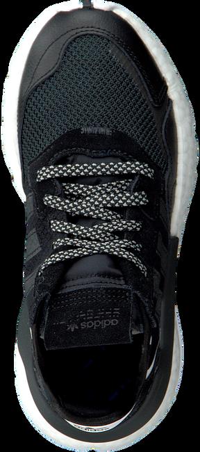Zwarte ADIDAS Lage sneakers NITE JOGGER J  - large