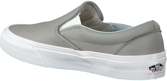 Grijze VANS Slip-on sneakers  CLASSIC SLIP ON WMN - large
