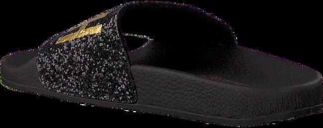 Zwarte THE WHITE BRAND Slippers GLITTER BEACH KIDS - large