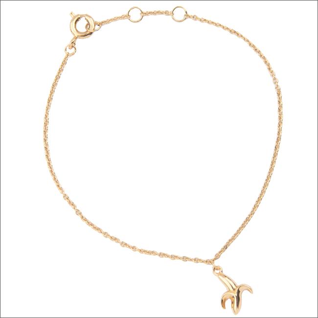 Gouden ALLTHELUCKINTHEWORLD Armband SOUVENIR BRACELET BANANA - large