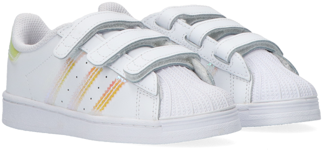 Witte ADIDAS Lage sneakers SUPERSTAR CF I  - large