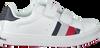 Witte TOMMY HILFIGER Sneakers LOW CUT VELCRO SNEAKER  - small
