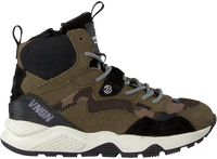 Groene VINGINO Hoge sneaker GIO MID  - medium