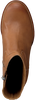 Cognac SHABBIES Enkellaarsjes 183020101  - small