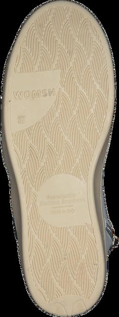 Witte WOMSH Hoge sneaker BASK  - large