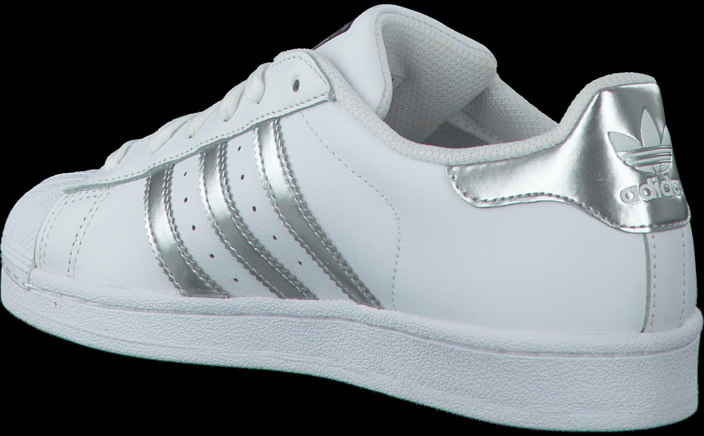 Witte ADIDAS Sneakers SUPERSTAR DAMES | Omoda