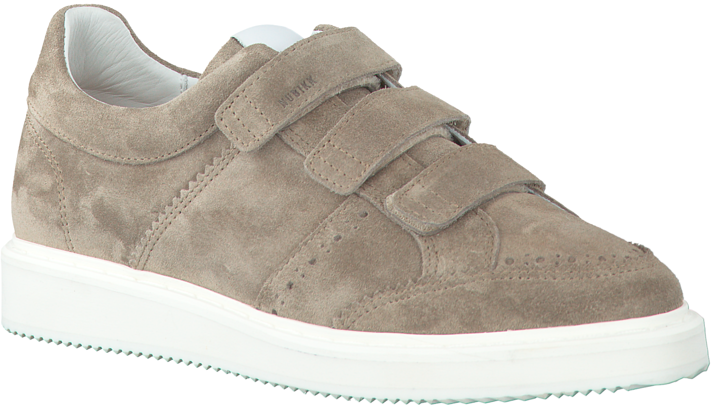 Noah Taupe Sneakers Velcro Omoda Nubikk nl OPkiuXZT