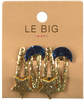 Gouden LE BIG Haarband PEARL HAIRCLIPS  - small