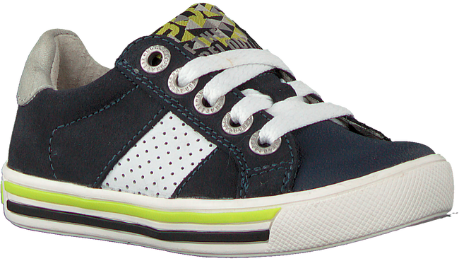 Blauwe BRAQEEZ Lage sneakers DICKY DAY  - large