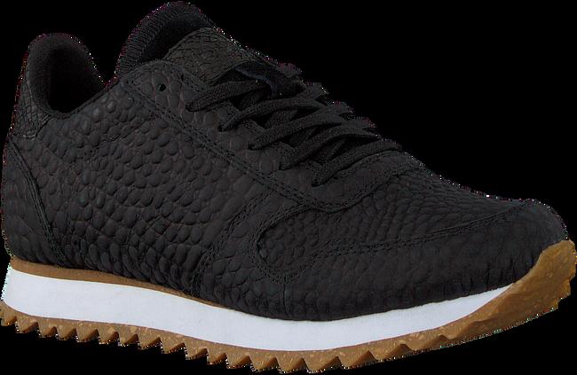 Zwarte WODEN Lage sneakers YDUN CROCO II  - large