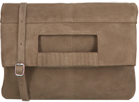 Taupe UNISA Clutch ZKAY  - medium