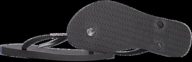 Zwarte HAVAIANAS Slippers SLIM GLITTER  - large