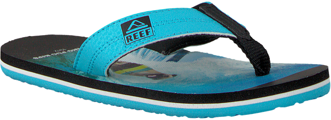 blauwe REEF Slippers GROM PHOTOS  - large