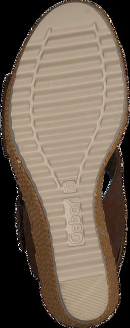 Bruine GABOR Sandalen 795.1  - large