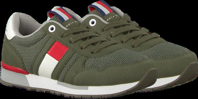 Groene TOMMY HILFIGER Sneakers LOW CUT LACE UP SNEAKER  - large