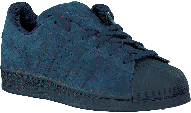 adidas superstar donkerblauw