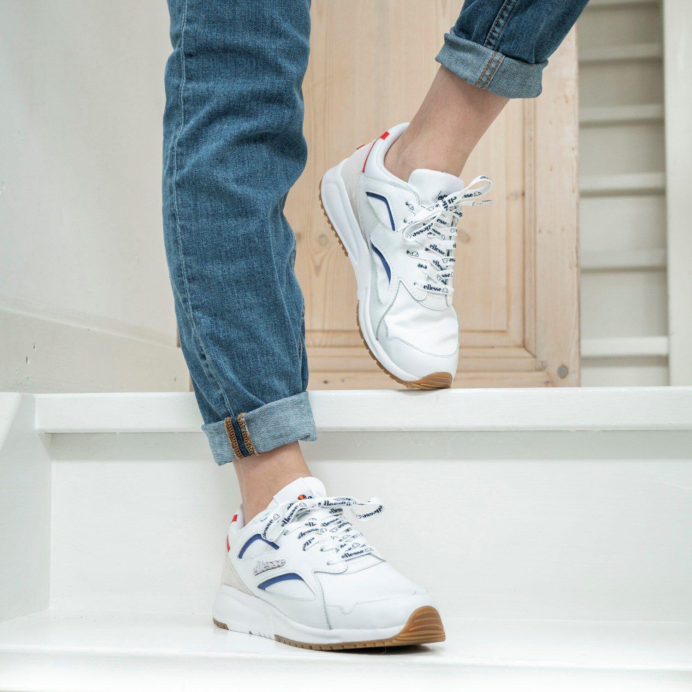 ellesse wit sneakers official 2b6ce af983