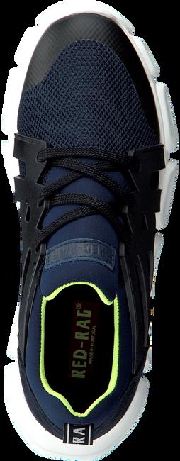 Blauwe RED-RAG Lage sneakers 13449  - large