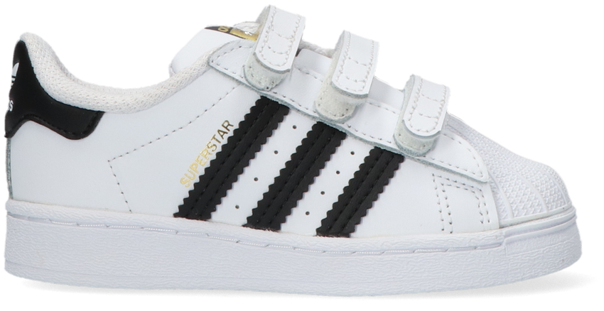 Witte ADIDAS Lage sneakers SUPERSTAR CF I  - larger