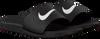 Zwarte NIKE Slippers KAWA SLIDE GS/PS  - small