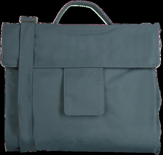 Blauwe MYOMY Laptoptas MY HOME BAG BUSINESS BAG - large