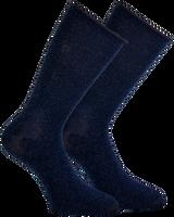 Blauwe MARCMARCS Sokken GWEN 2-PACK LANG - medium